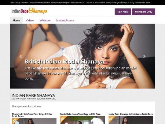 Indian Babe Shanaya