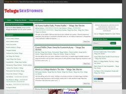 Telugu Sex Stories